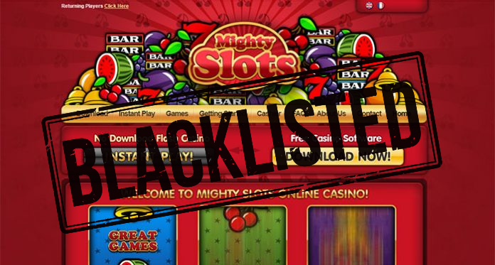 mighty slots casino scam