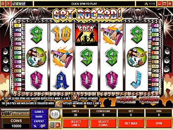 Get Rocked Video Slot Game