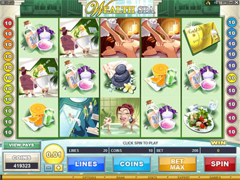 Wealth Spa Video Slot Game