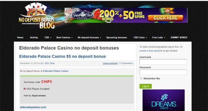 El Dorado Palace Casino Bonus Issue (Resolved) But Still Blacklisted