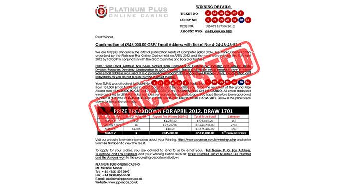 Platinum Plus Casino Online