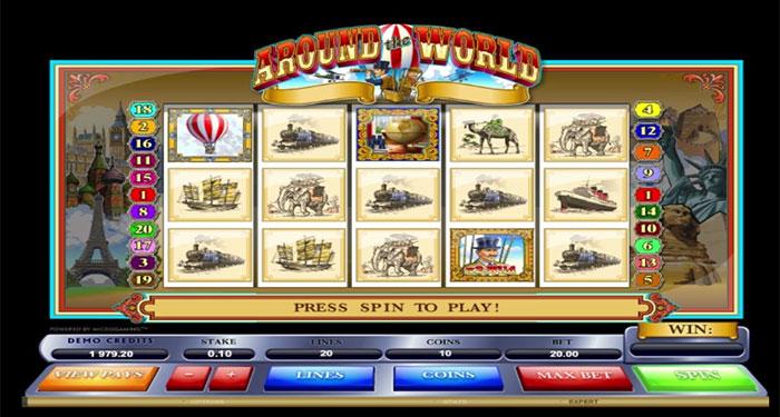 Play Around The World Slot Game