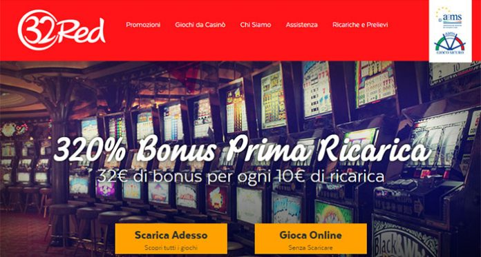 32Red Revving Up Italian Market with Online Casino, Poker and Bingo