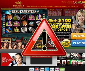 Monarch's Online Casino Warning, Slow Payout Runaround