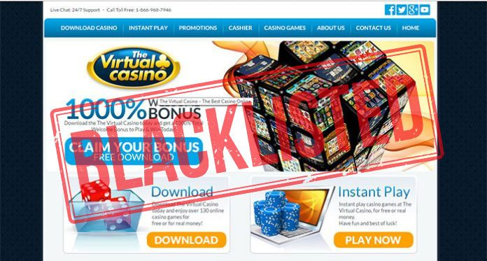 Virtual Casino Group Blacklisted