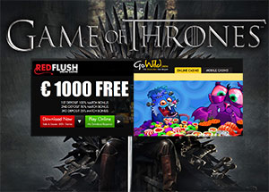 New Game of Thrones® Slot at GoWild and Red Flush