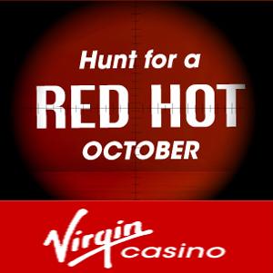 Red Hot Cash Back Bonus Money at Virgin Casino