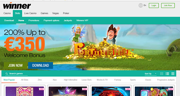 Winner.Com Casino