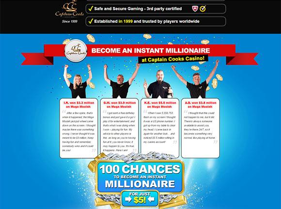 Captain Cooks Online Casino Login