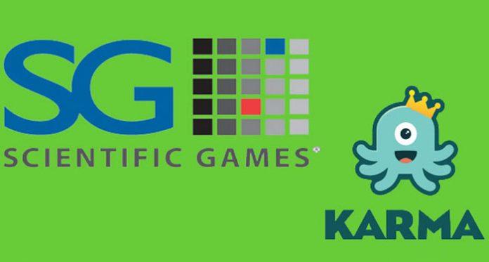 Scientific Games Acquires Karma Gaming's Portfolio of Interactive Games