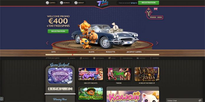 Daily Cashback for New Players Only at 7Bits Casino