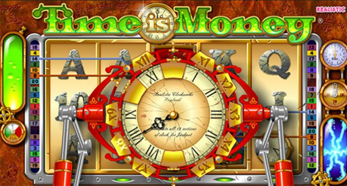 New Time is Money Slot, Multiplying Clock Featuring by Realistic Games
