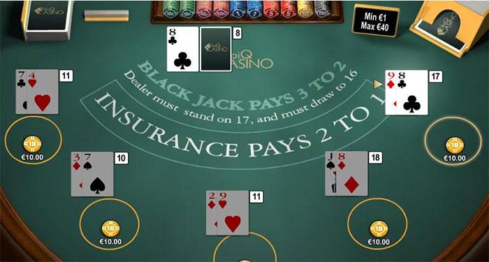 blackjack online
