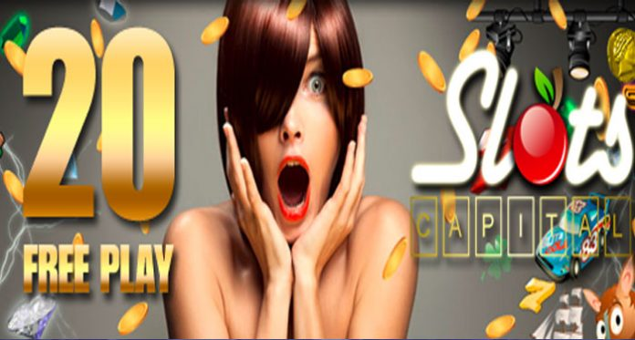 Slot Capital Casino 20 Free Spins Giveaway and Launch of Exciting New Slots!