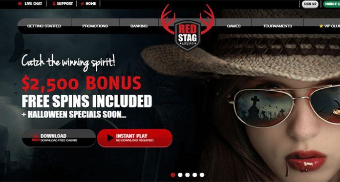 Gamble on the Go, With Red Stag Casinos Mobile Bonus