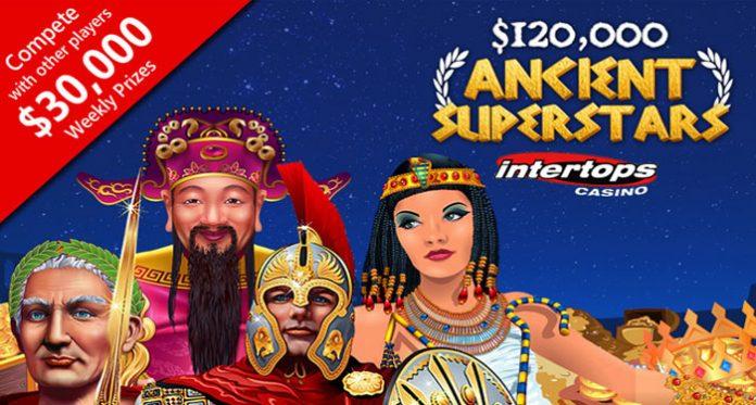 Dont Miss Out on Intertops $120K Ancient Superstars Bonus