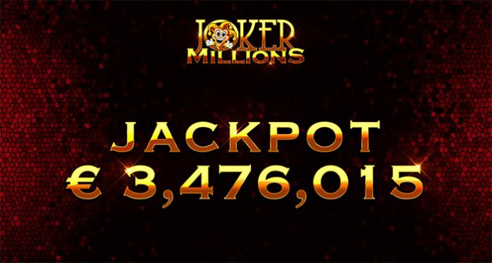 Joker Millions Slot Pays Out 3.48 Million on Mobile