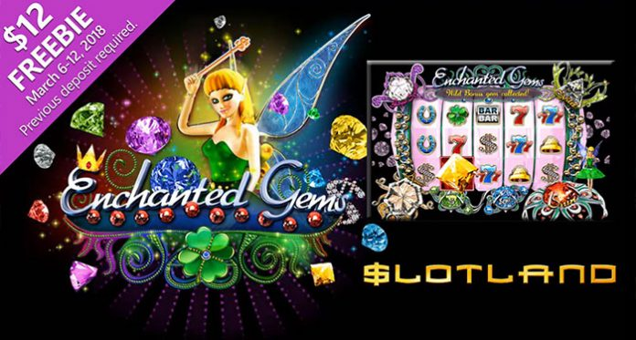 Three Special Bonus Offers on New Enchanted Gems Slot at Slotland