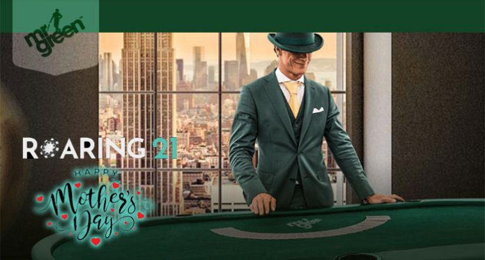 Roaring 21 Casinos Mother's Day Special, + Mr Green's $5K Jackpot Giveaway