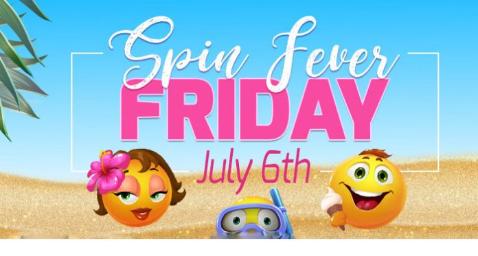 Spin Fever Day This Friday at Downtown Bingo, Get 10 Free Spins