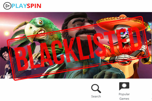 Playspin Casino Scam