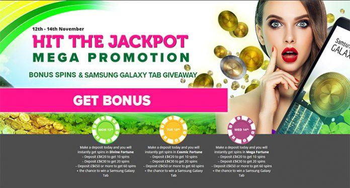 Win Big in CasinoLuck's Hit the Jackpot Mega Promotion
