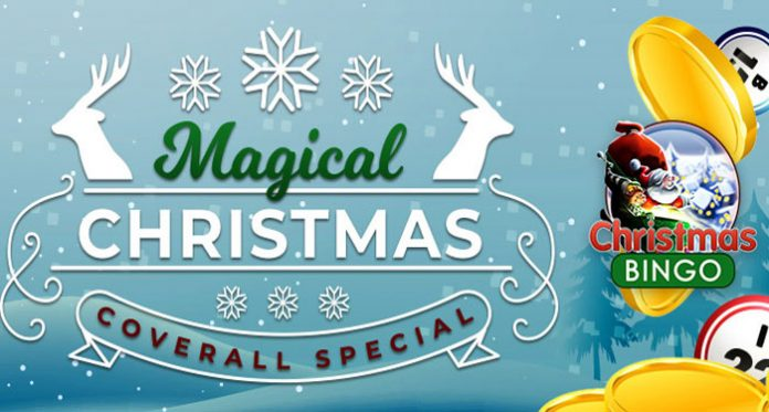 Magical Christmas Coverall Special at Downtown Bingo