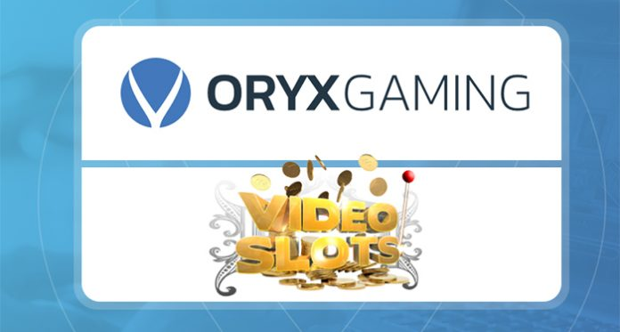 Oryx Gaming Signs a New Agreement with Videoslots