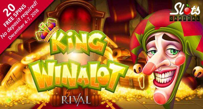 New Introductory Spins/Bonuses on King Winalot at Slots Capital