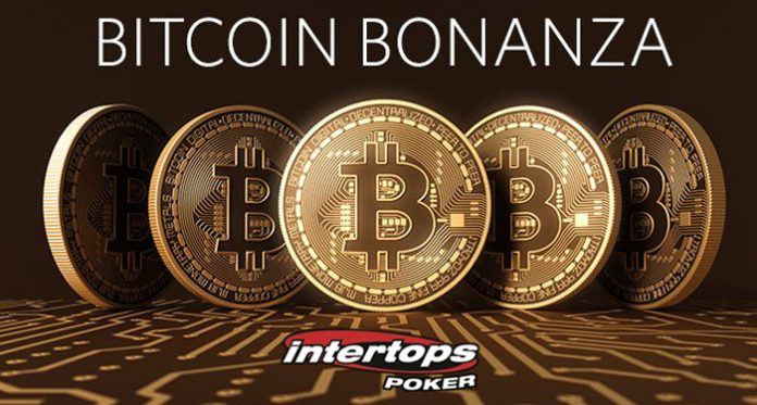 Free Spins for Players with the Bitcoin Bonanza at Intertops Poker