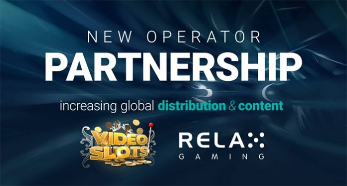 Videoslots and Relax Gaming Enter New Content Partnership