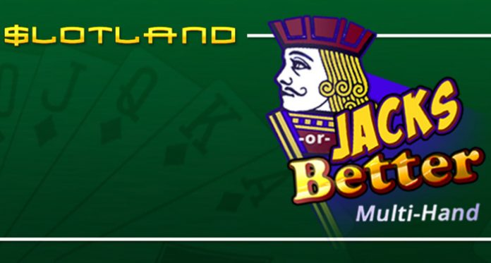 Slotland Giving $17 Free Chip on Multi-hand Version of Jacks or Better