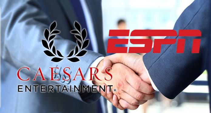 Caesars Entertainment Joins Forces with ESPN