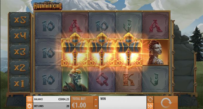 Quickspin Just Released its Hall of the Mountain King Slot