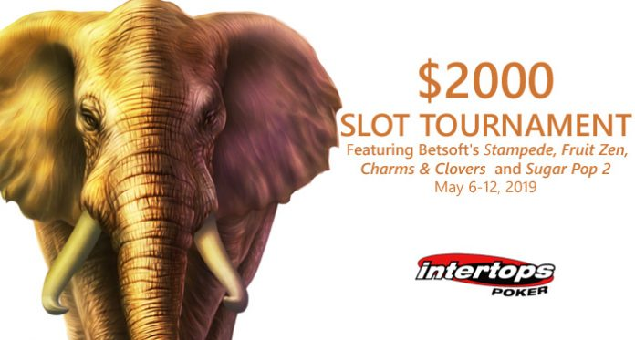 Win $2000 in Prizes during May Slots Tournament at Intertops Poker