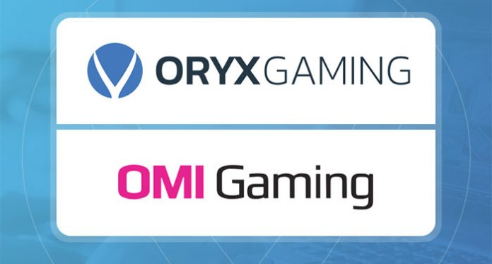 Oryx Gaming and OMI Strengthen with New Partnership Seal