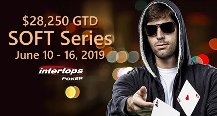 $28K SOFT Series II Featuring Freerolls and Mid/Low Buy-ins at Intertops