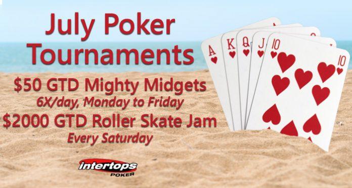 Intertops $50 GTD Mighty Midgets + $2000 GTD Roller Skate Jam Tournament