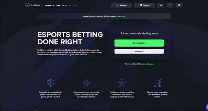 Esports Betting Platform Luckbox Offers Eight New Games