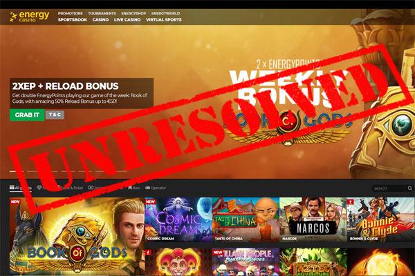 Energy Casino Complaint
