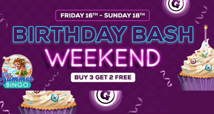 Birthday Bash Weekend at Downtown Bingo, August 16th!