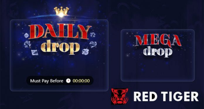 Red Tiger Gaming's Daily Drop Jackpot Network Payouts