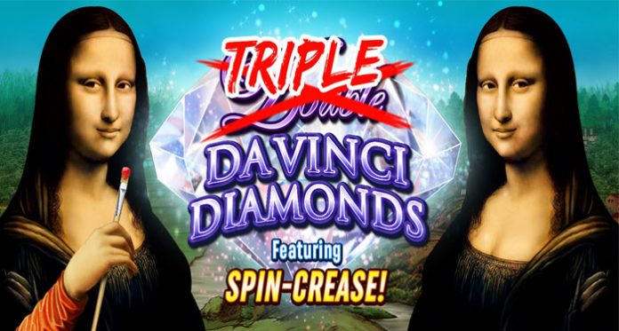 High 5 Games Debuts Triple Double Da Vinci Diamonds