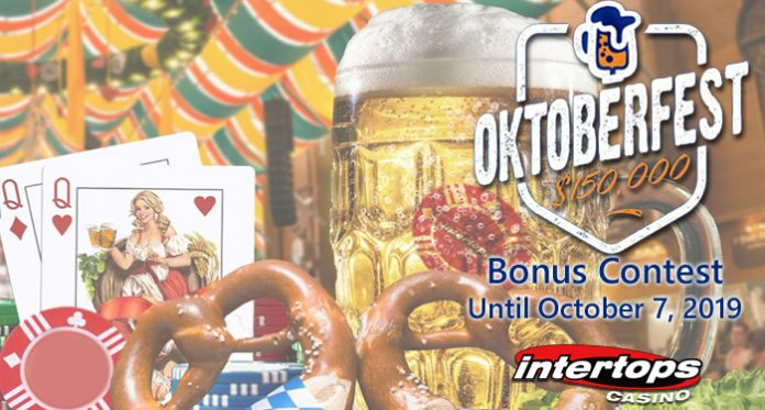 Intertops Casino Celebrates Oktoberfest with $150K Bonus Contest