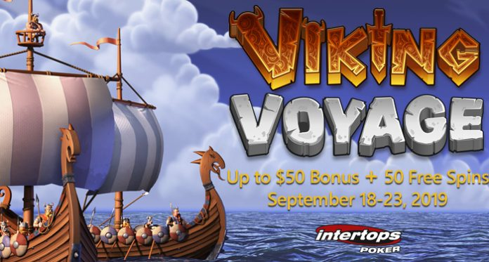 Free Spins on Viking Voyage and up to $50 Cash Bonus at IntertopsFree Spins on Viking Voyage and up to $50 Cash Bonus at Intertops