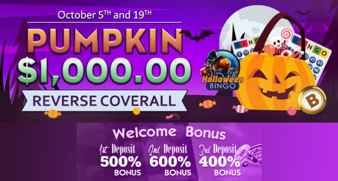 Double the Pumpkin Bingo Fun with Downtown's $1K Reverse Coverall