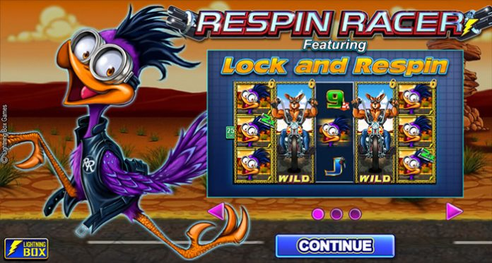 Lightning Box Unleashes its Latest Innovative Respin Racer Slot