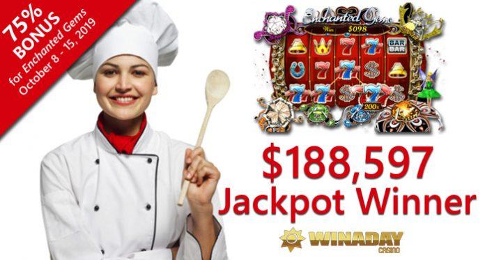 $188K Jackpot Winner at WinADay Casino Tempted to Quit Job