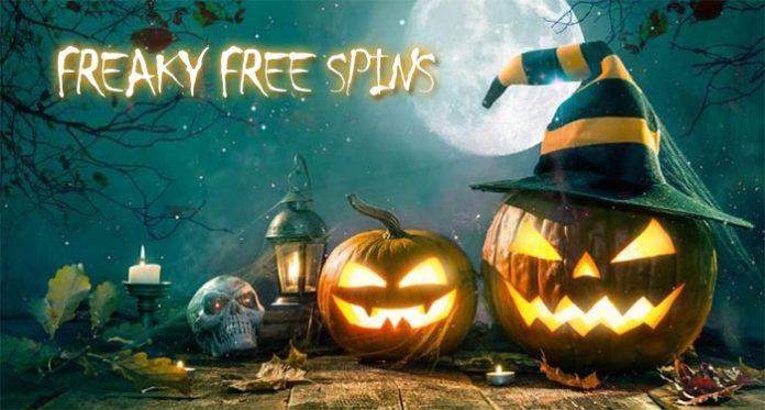 Halloween Weekend Bonus, Freaky Free Spins + November Candy Pack