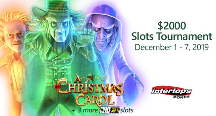 $2000 December Slots Tournament Features at Intertops Poker